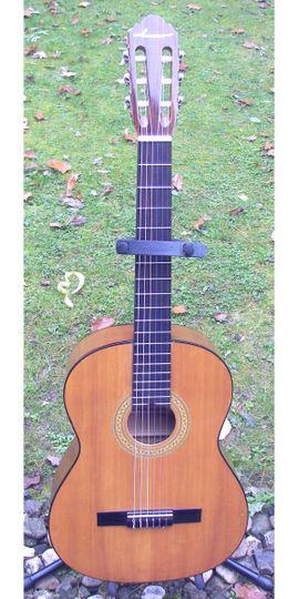 Verkaufe schöne Konzertgitarre klassische Nylonsaiten: Kleinanzeigen aus Schotten - Rubrik Gitarren/-zubehör