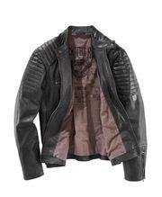 neue Echt Leder Jacke