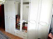 Schlafzimmer komplett - Set weiß Schleiflack