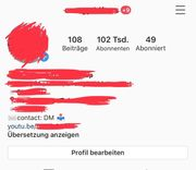 Instagram Ac-count Se-ite Page 102K