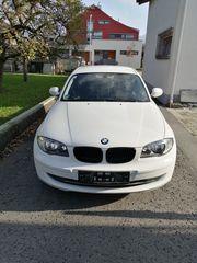 Verkaufe BMW 116d weiss 5-türig