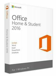 Microsoft Office 2016 Home Student