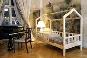 Hausbett Mit Barrieren Bella aus