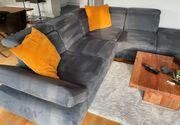 Hochwertige Eck-Couch in gutem Zustand
