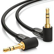 Audiokabel deleycon 2x 90° 3