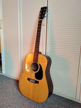 Gitarren/-zubehör - Western-Gitarre Marvin MJ320