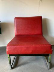 3 Stück 60iger 70iger Jahre-Loungechairs