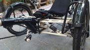 Liegerad E bike trike Elektro
