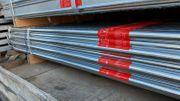 Stahl Gerüst 126 qm 12x10