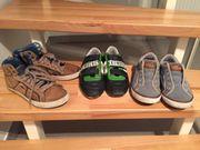 4 paar Schuhe Geox Sneaker