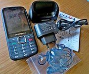 Neuwertig Senioren-Marken-Handy simlock frei komplett
