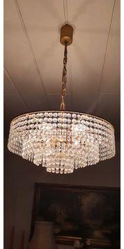 Deckenlampe mit Glas Kristallen