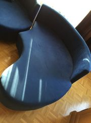 Blaue Sitz-und Liegelandschaft -Zu verschenken-