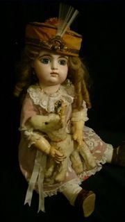 Antike Gaultier Puppe Frankreich 1880-1890