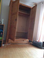 Holzschrank Vollholz Wohnzimmer Schlafzimmer Flur