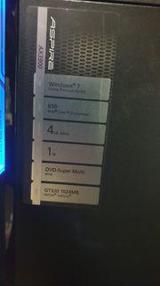 Acer Aspire AX3900 i5 Windows