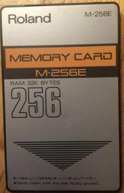 ROLAND M256 E Memory Card