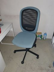 Schreibtischstuhl Flintan von Ikea türkis