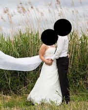 Brautkleid Größe 40 Creme sehr