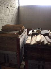 Achtung Brennholz Einlagerung Weich -Troken