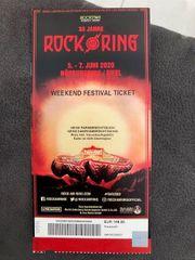 Rock am Ring Karte 2020
