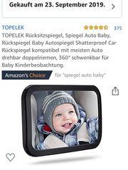 Autospiegel für das Baby