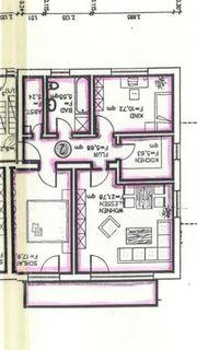 3-Zimmer-Wohnung mit Balkon und 2