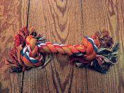 Hunde Spiel-und Kauknoten multicolor nagelneu