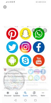 Alle Social media Hilfen