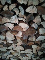 Verkaufe regionales Brennholz