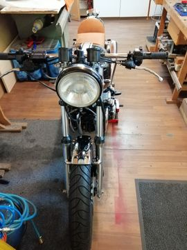 Cafe racer project