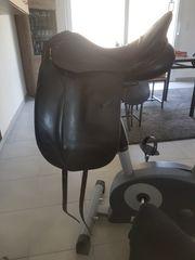Dressursattel Schwarz Super Sitz