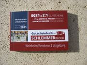 neuer Schlemmerblock Weinheim Viernheim Umgebung