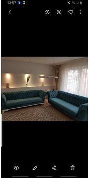 2 hochwertige Sofas