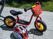 Puky Laufrad mit Helm und