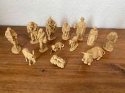 13x Krippe Figuren Weihnachten Festtage