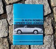 Betriebsanleitung Alfa Romeo Spider Duetto