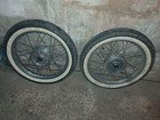 Simson Reifen mit felge neuwertig