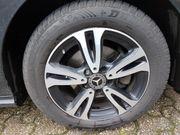4 Winterreifen auf original Mercedes