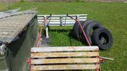 Pferdekutsche gebraucht mit Zubehör
