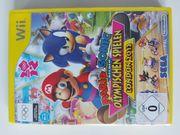 Wii Spiel Mario Sonic bei