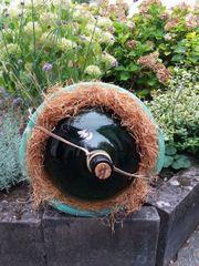 Weinballon Flasche