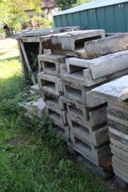 Waschbetonplatten Pflastersteine Dachziegel