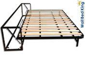 Horizontal Super King-Size Bett Classic-Wandbett