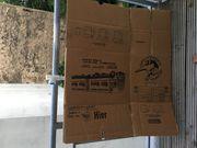 25 faltbare Umzugskartons an Abholer