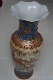 Chinesische Bodenvase-60 cm hoch