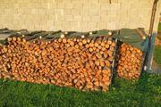 Brennholz Fichte 1m Länge gespalten