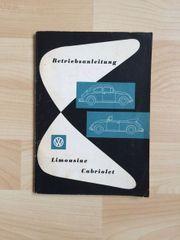 ORIGINAL NEU Betriebsanleitung 08 1960