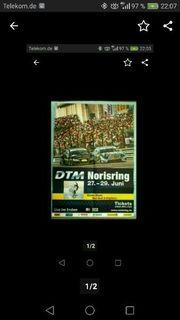 DTM Norisring 2008 Plakat Poster
