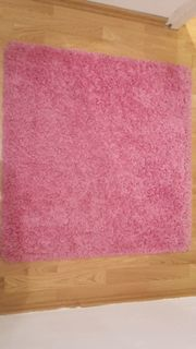2 rosa Teppiche IKEA HAMPEN